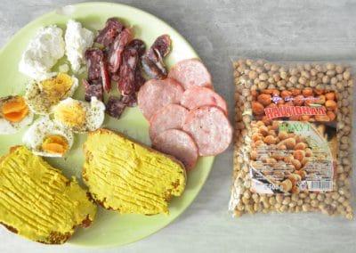 Препечени филийки с хумус – фитнес закуска