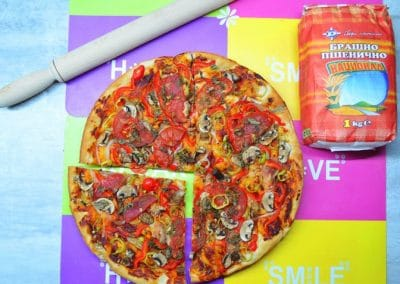 Вегетарианска пица Национал